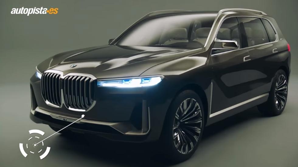 VÍDEO: así es el BMW X7 Concept, el SUV que llega en 2018