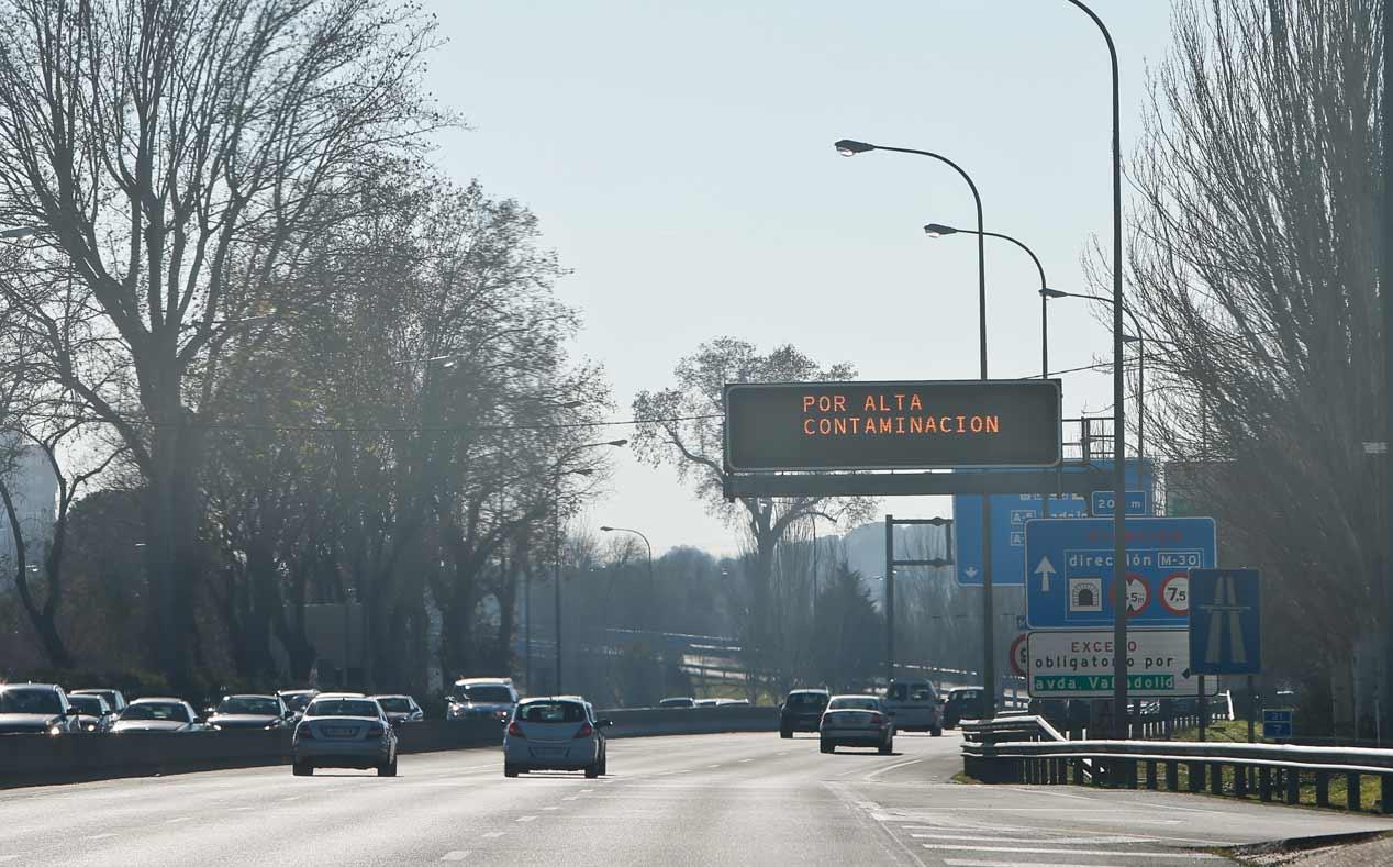 Madrid cerrará el tráfico en el centro en 2018