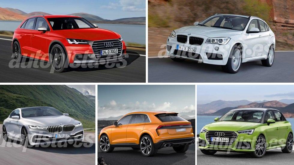 Audi vs BMW: todas sus novedades de final de año y 2018