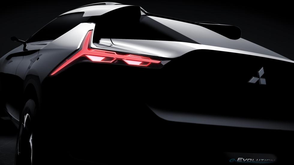Revolución en Mitsubishi: e-Evolution, ¿el regreso del Evo?