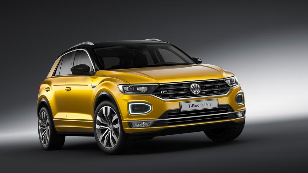 Todos los precios del VW T-Roc: el SUV, desde 23.510 euros