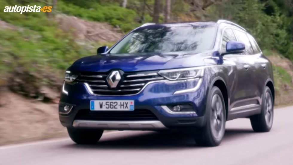 VÍDEO: Renault Koleos, máxima seguridad para el nuevo SUV
