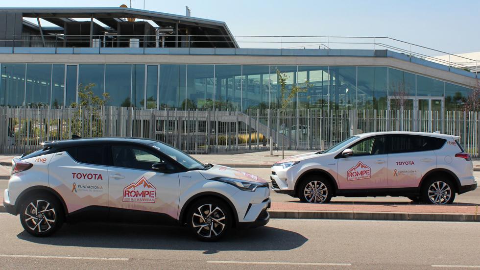 Toyota participa en el reto deportivo #RompeTusBarreras