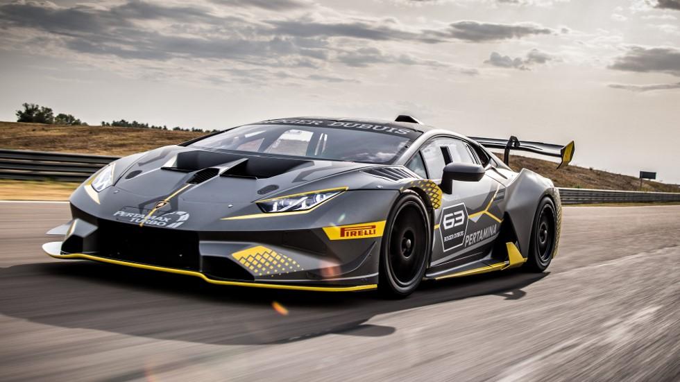 Lamborghini Huracán Super Trofeo EVO: ¡qué deportivo!