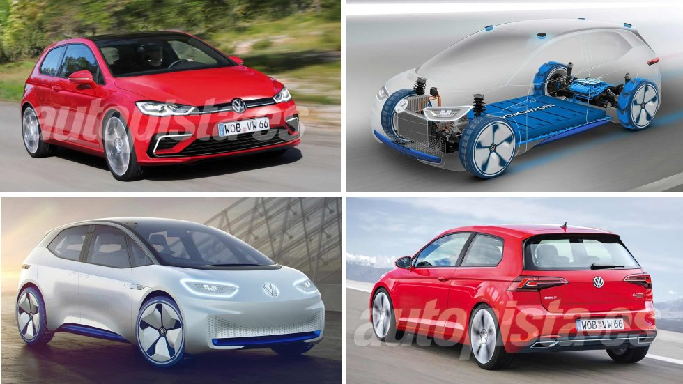 VW I.D. y Golf 8: se lanzarán a la vez en 2018… y así serán
