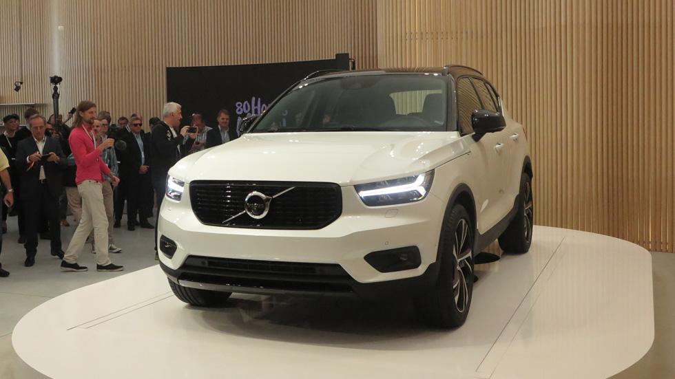 Todo sobre el Volvo XC40: técnica, tecnología e interior del nuevo SUV