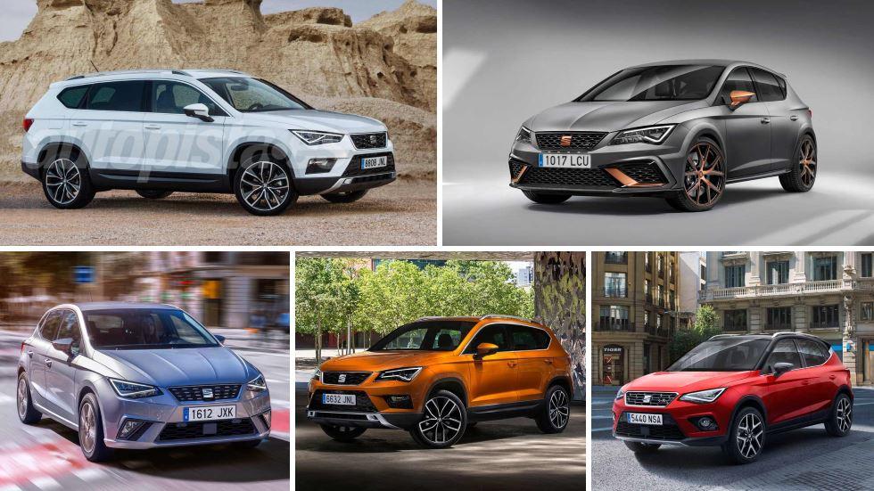 Las novedades de Seat para final de año y 2018: Arona, gran SUV, Cupra R…