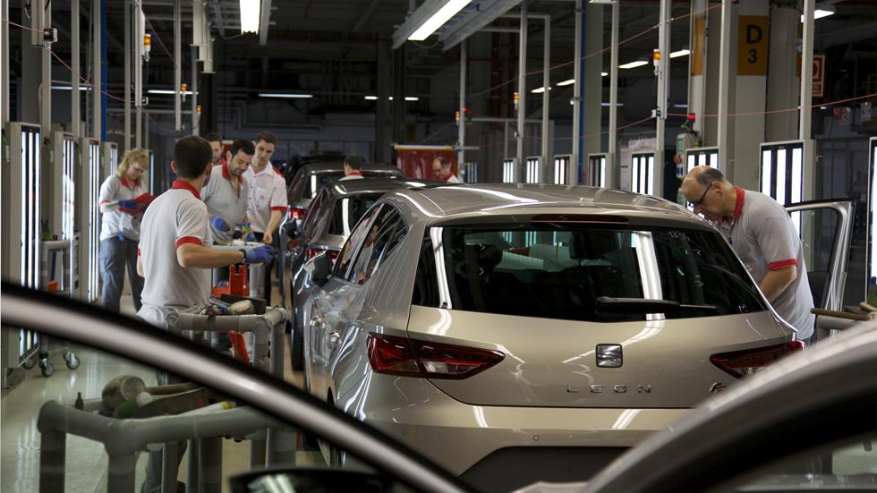 Cae la fabricación de coches en España