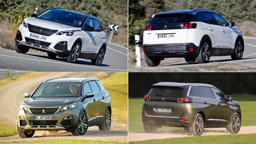 Peugeot 3008 y 5008: los exitosos SUV estrenan nuevo motor Diesel