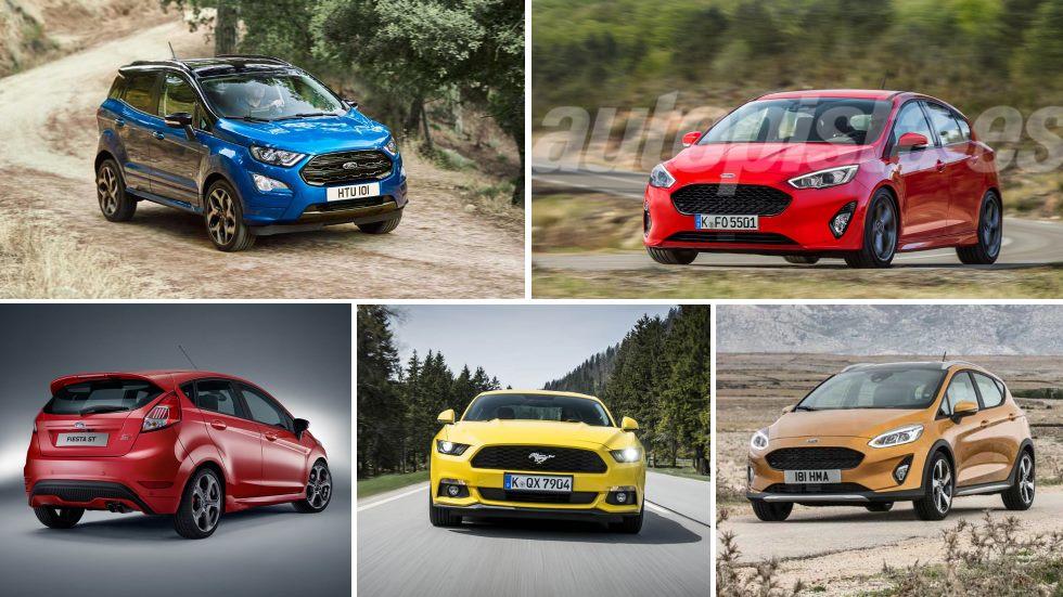 Las novedades de Ford para final de año y 2018: Focus, EcoSport, Mustang…
