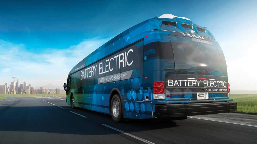 Un autobús eléctrico recorre ¡1.800 km con una sola carga!