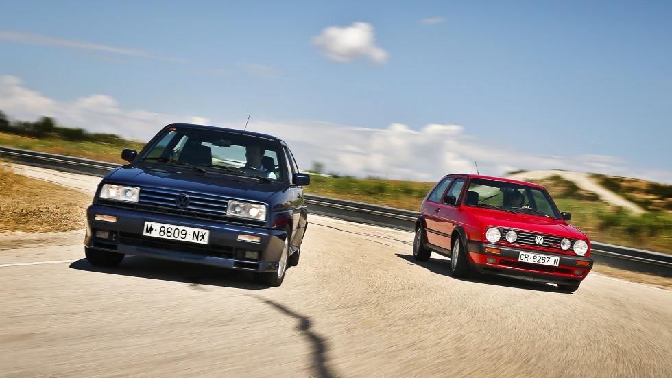 Coches para el recuerdo: Volkswagen Golf GTI G60 y Rallye