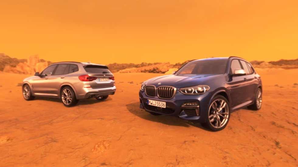 BMW X3: el nuevo SUV ya llega… y rueda por Marte (VÍDEO)