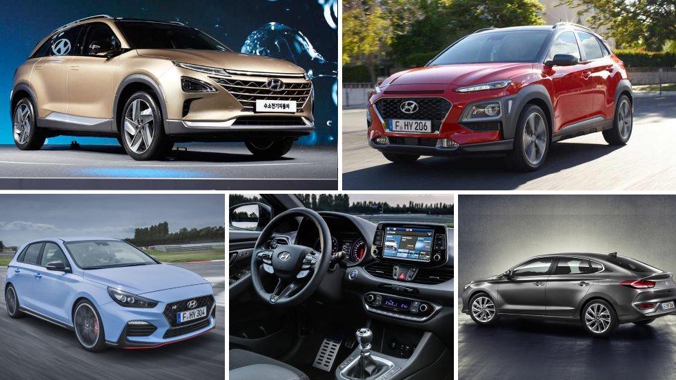 Las novedades de Hyundai para final de año y 2018: Tucson, Kona, i20…