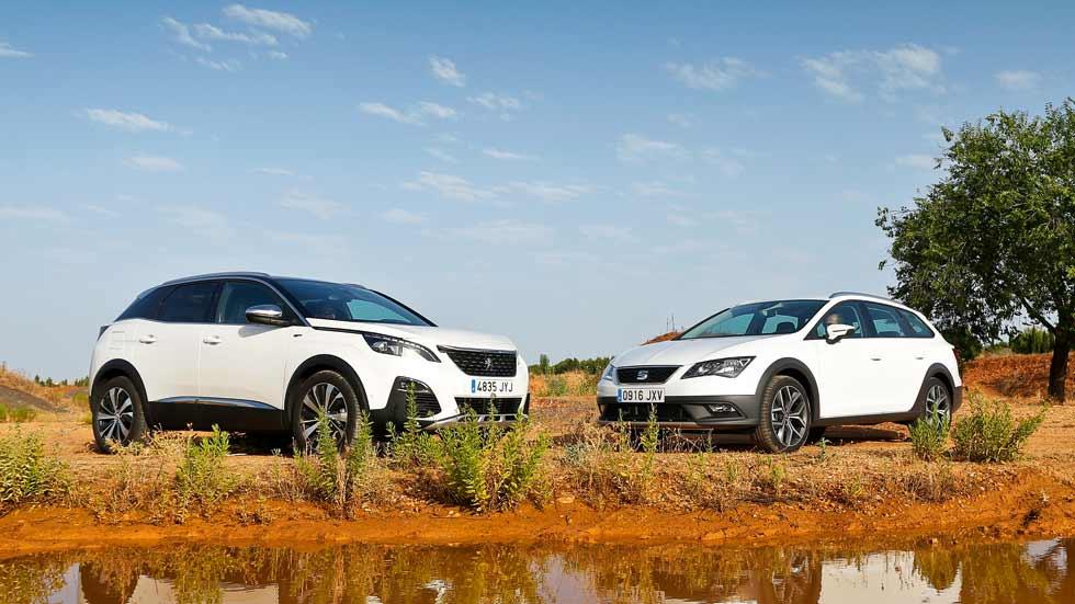 Peugeot 3008 vs Seat León X-Perience: ¿SUV o crossover? ¿Cuál es mejor?