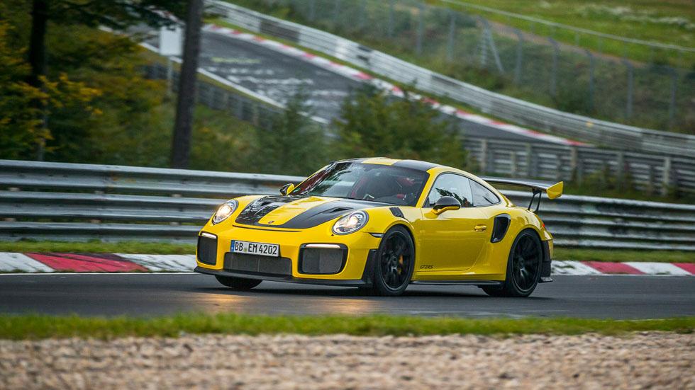 Porsche 911 GT2 RS: récord de deportivo de producción en Nürburgring (VÍDEOS)