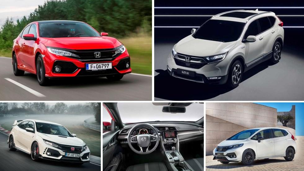 Las novedades de Honda para final de año y 2018: CR-V, Type R, Jazz…