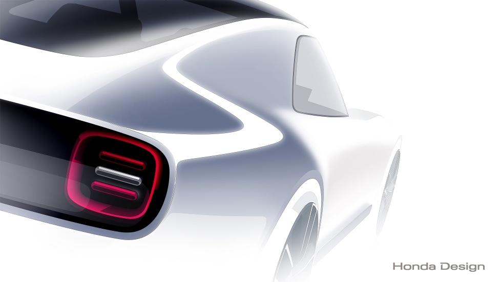 Honda Sports EV Concept: eléctrico para el Salón de Tokio