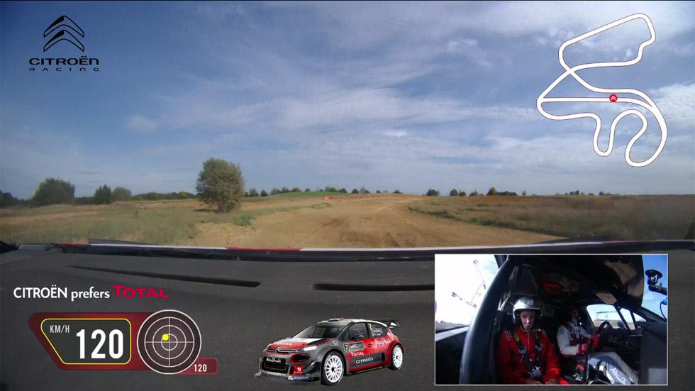 VÍDEO: Copilotamos el Citroën C3 WRC con Kris Meeke