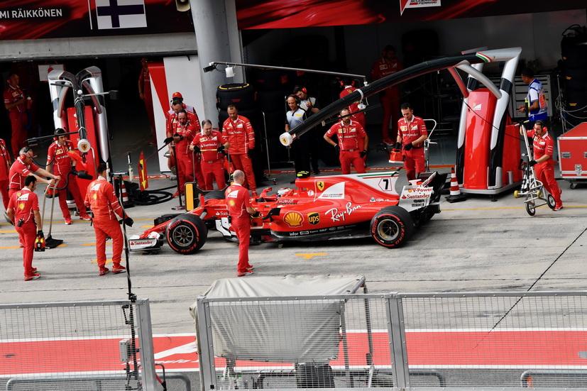 GP de Malasia: la mala suerte persigue a Ferrari