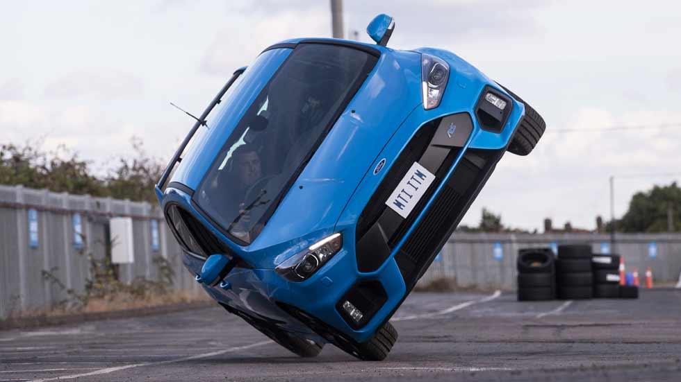 Ford Go Faster: actor y piloto especialista por un día