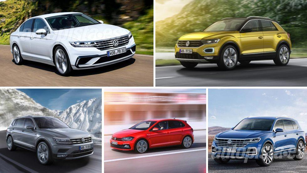 Las novedades de Volkswagen para 2018: T-Roc, Tiguan Allspace, Passat…