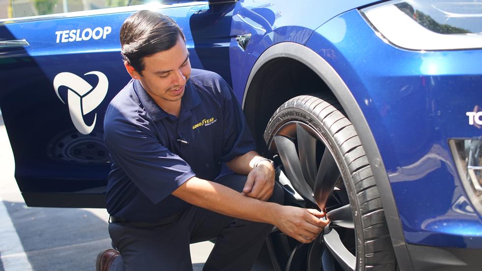 Así es el neumático inteligente que aconseja cuándo sustituirlo