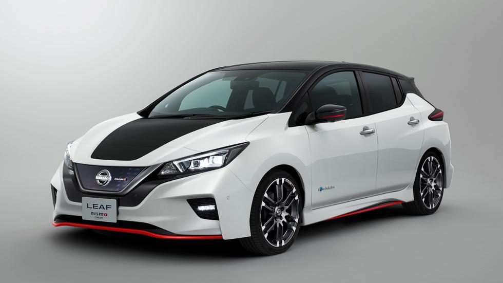 """Nissan Leaf NISMO Concept: el coche eléctrico de Nissan más """"electrizante"""""""