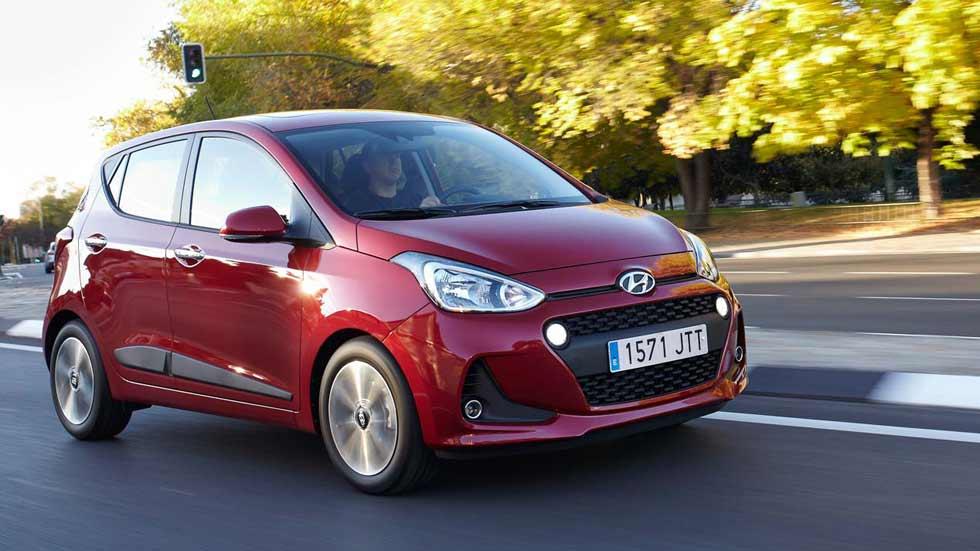 Hyundai i10 GLP de gas licuado: tuyo por 13.765 euros