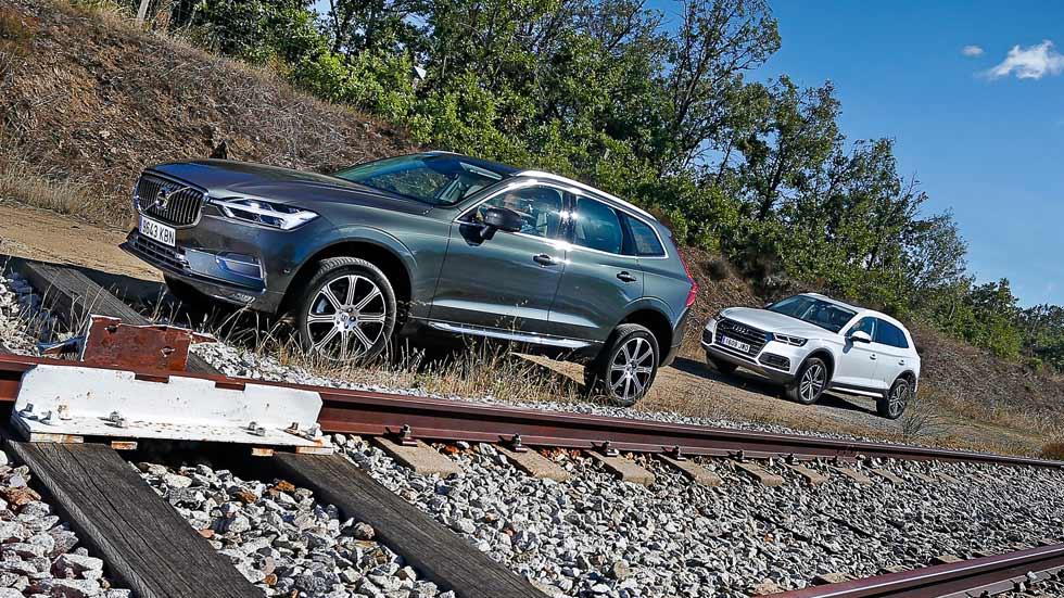 Audi Q5 vs Volvo XC60: en busca del mejor SUV premium y Diesel