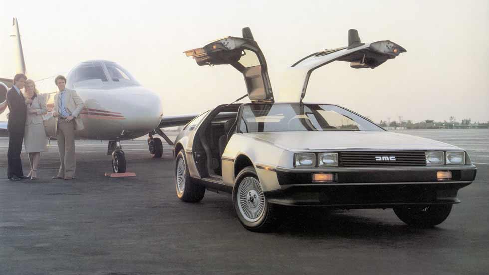 Coches del mundo del cine: a prueba el DeLorean DMC-12 de Regreso al Futuro (Vídeo)