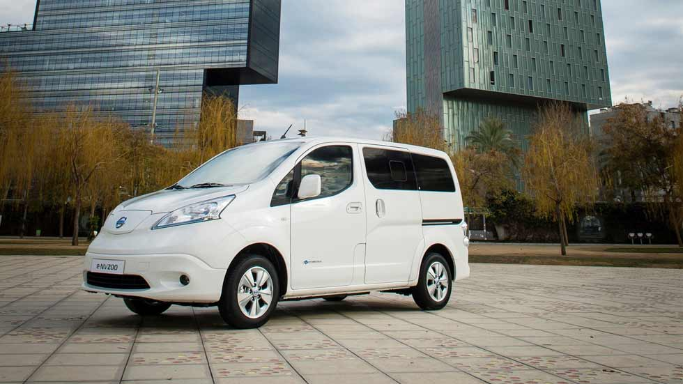 Nueva Nissan e-NV200 con una autonomía de 280 kilómetros