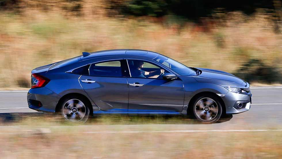 Honda Civic Sedán 1.5 VTEC Turbo: superprueba con todas las mediciones