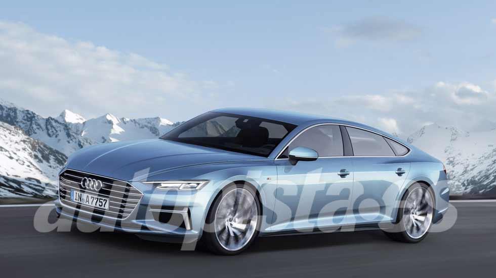 Audi A7 Sportback: próxima generación, en 2019