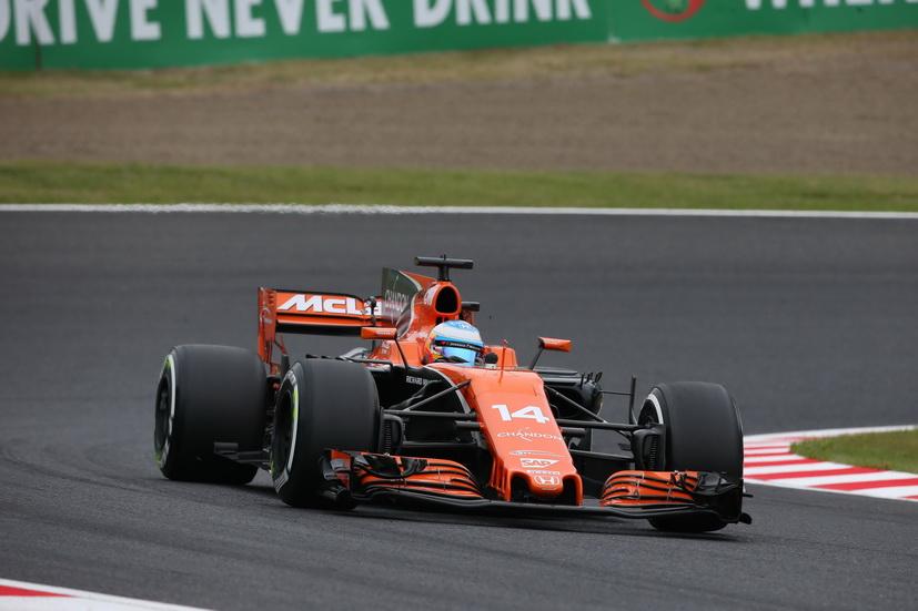 """GP de Japón: """"El coche se comporta bien"""", comentó Alonso tras las sesiones del viernes"""
