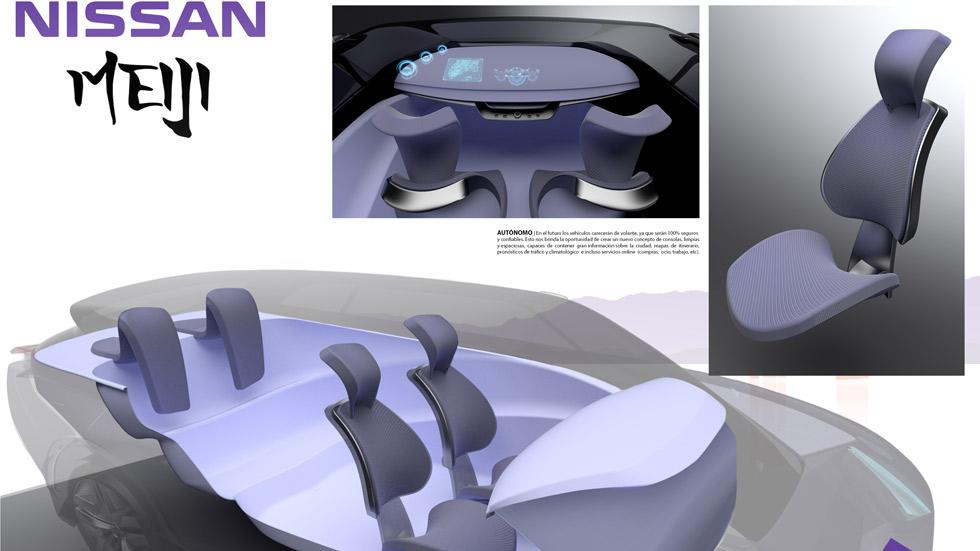 Ya hay ganador del Concurso de Diseño de Autopista, Nissan y la UPV