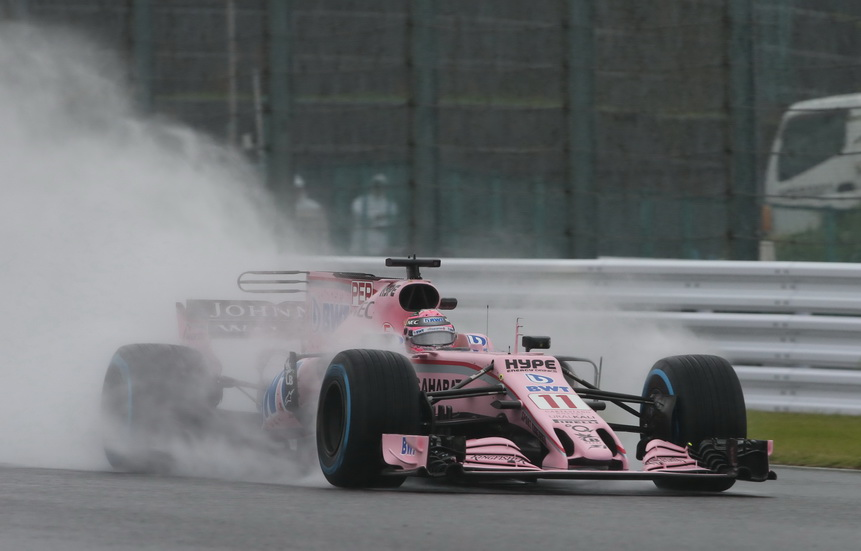 GP de Japón: Checo Pérez aprovechó el tiempo por la mañana