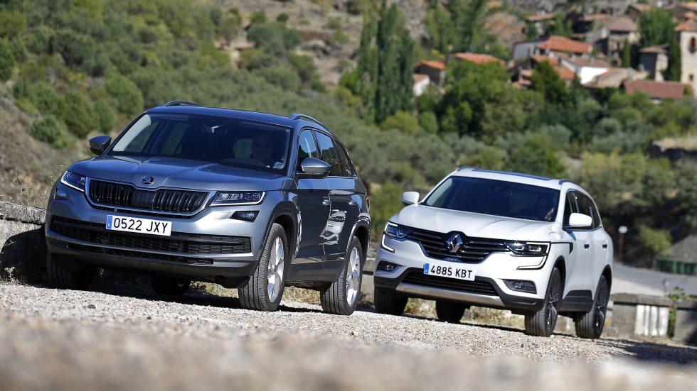 Comparativa: Renault Koleos dCi vs Skoda Kodiaq TDI, ¿qué SUV es mejor?