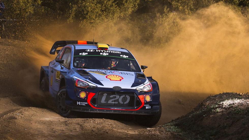 Rally de España 2017 (viernes): estreno exitoso para Mikkelsen