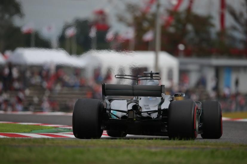 GP de Japón: increíble la pole de Lewis Hamilton