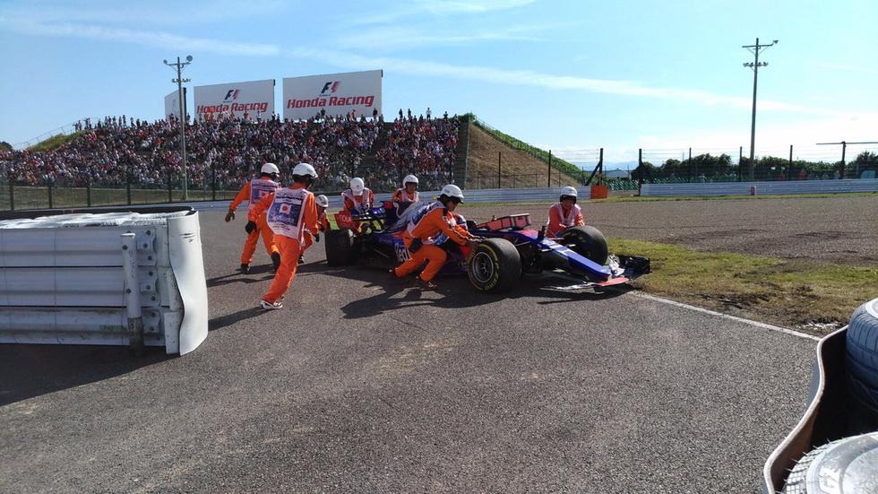 GP de Japón: abandono de Sainz por accidente