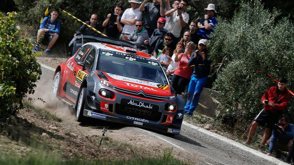 Kris Meeke en el Rally de España