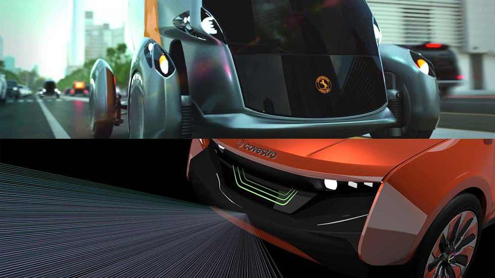 Continental Bee Concept y Covestro: ¿los coches del futuro?
