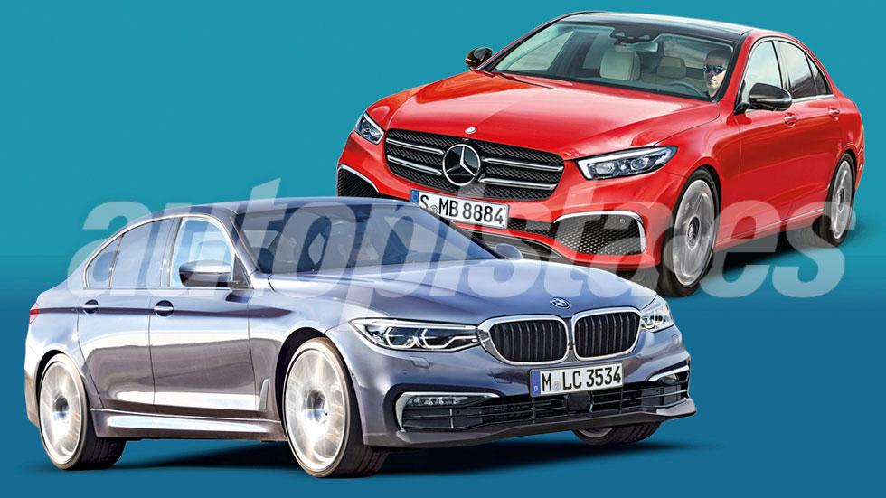 BMW Serie 3 2018 y Mercedes Clase C 2020: duelo de fueras de serie