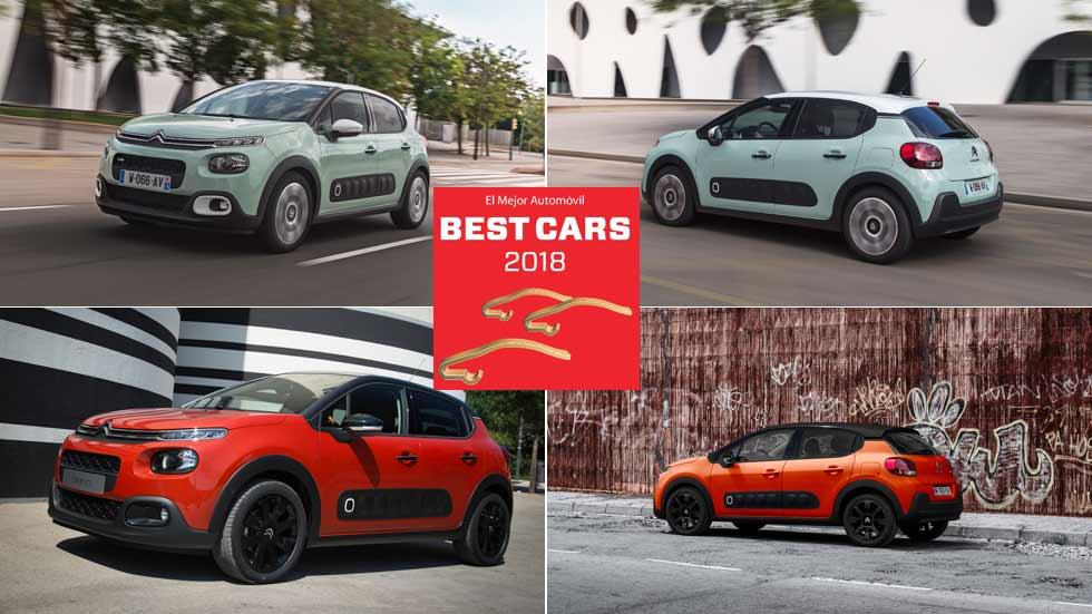 Best Cars 2018: vota y gana un Citroën C3