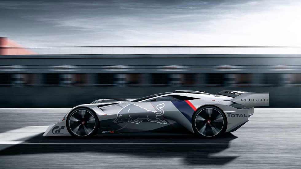 Peugeot L750 R HYbrid Vision, directo a Gran Turismo Sport