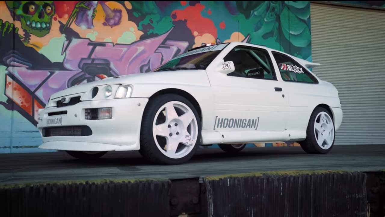 """El nuevo """"juguete"""" de Ken Block: un Ford Escort Cosworth World Rally Car de 1993 (VÍDEO)"""