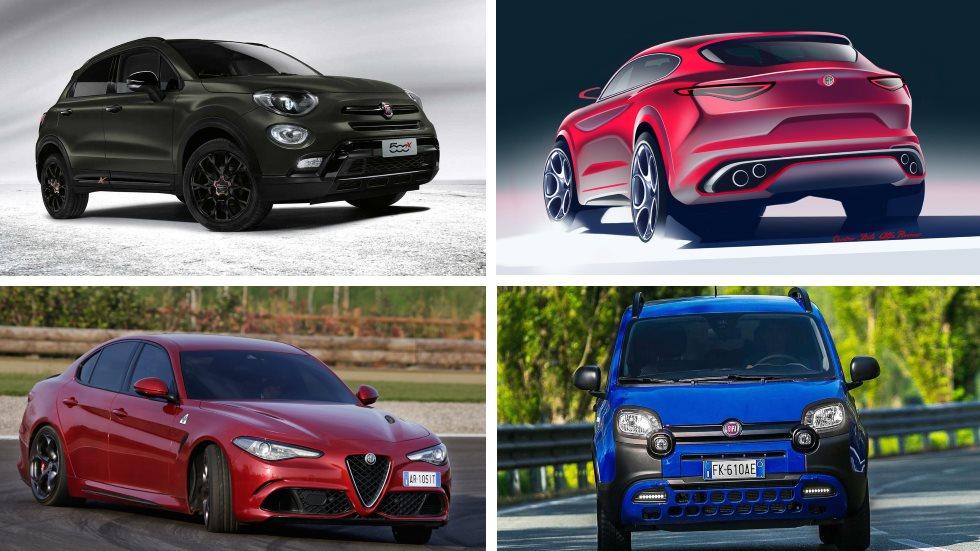 Las  novedades de Fiat, Alfa Romeo y Abarth para 2018: Panda, Alfetta, 500X…