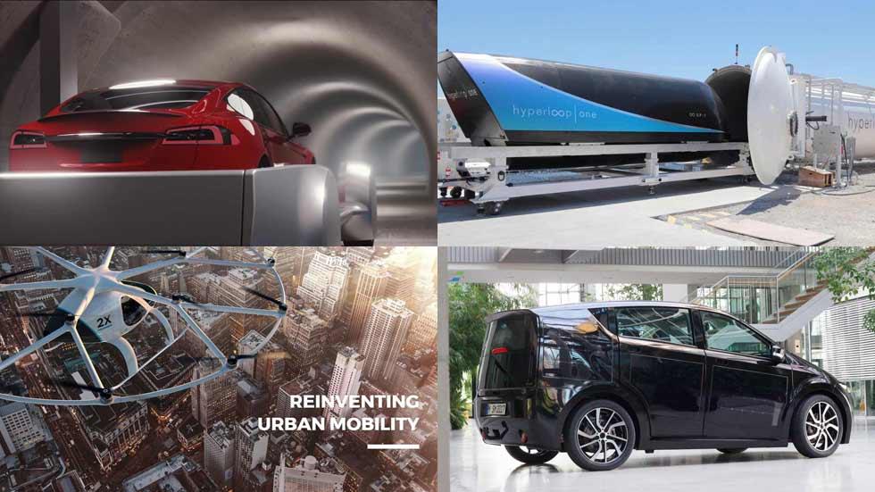 Energía solar, coches voladores, trenes a 1.200 km/h… ¿Cómo circularemos en 2060?