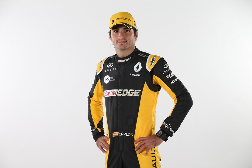 GP de USA: Carlos Sainz Jr. ya viste de Renault